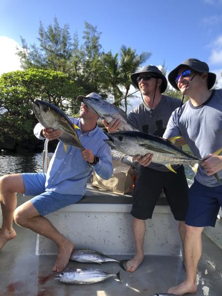 Hawaiian Style Fishing, we share the catch