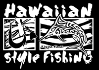 Hawaiian Style Fishing Marlin logo