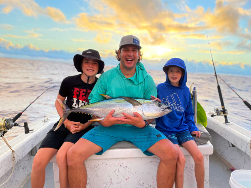 Smiles and Sunsets with Hawaiian Style Fishing