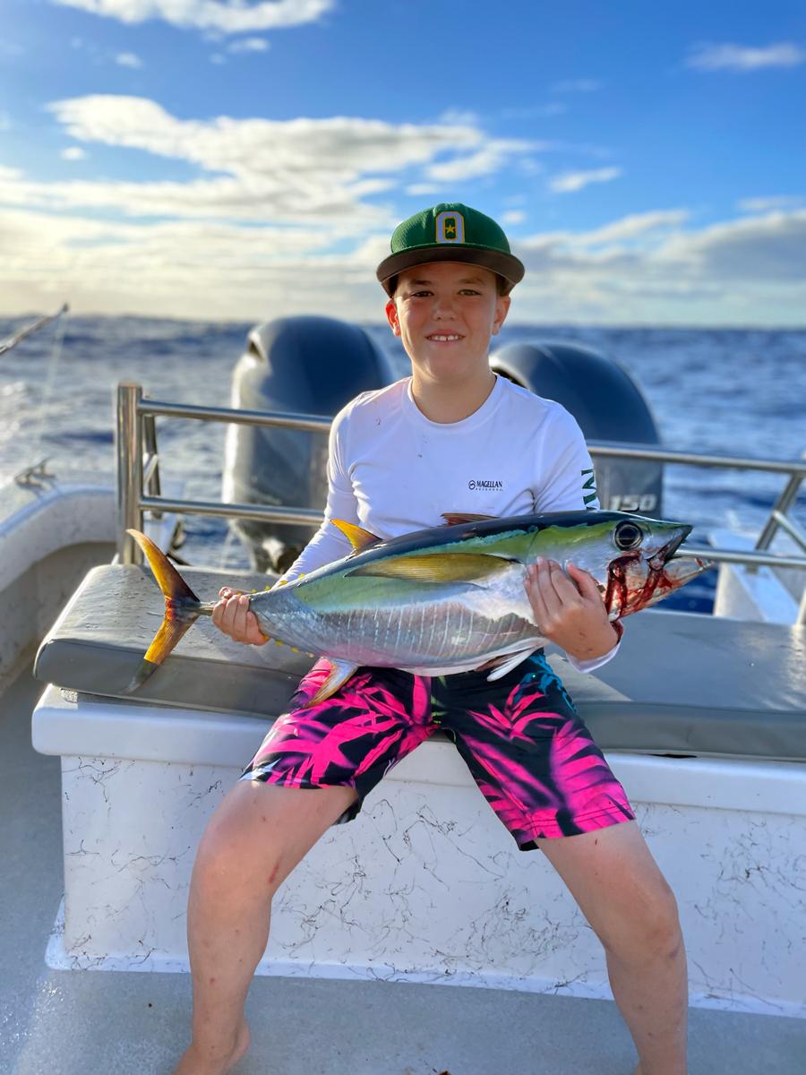 Hawaiian Style Fishing
